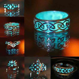 5x Vintage turquoise opale bague Set Fashion doigt bague ensemble Set 9H