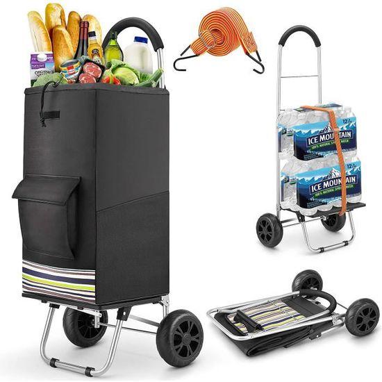 Pliable Shopping Trolley à 25 kg Caddie Voyage Trolley Poignée télescopique