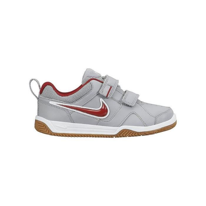 nike baskets lykin 11 chaussures b b gar on gris et rouge achat vente basket cdiscount. Black Bedroom Furniture Sets. Home Design Ideas
