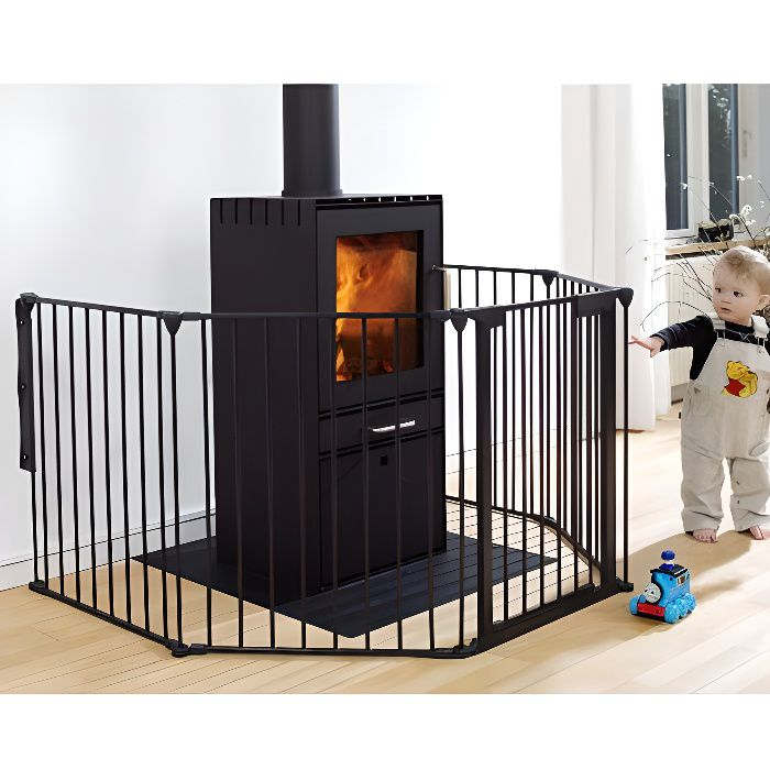 baby dan barri re de s curit enfant flex 5 noir achat vente barri re de s curit. Black Bedroom Furniture Sets. Home Design Ideas
