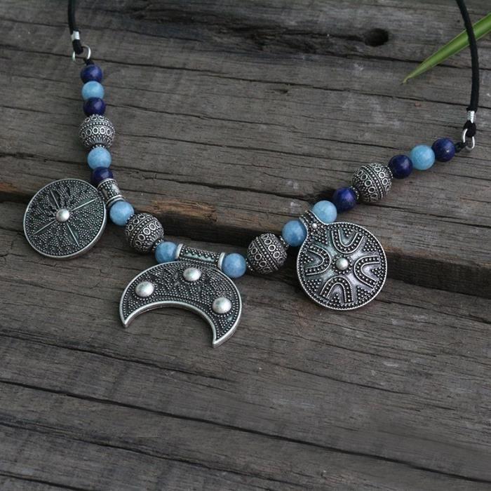 Collier De Perles Amazonite Collier De Perles Design Bijoux_argent