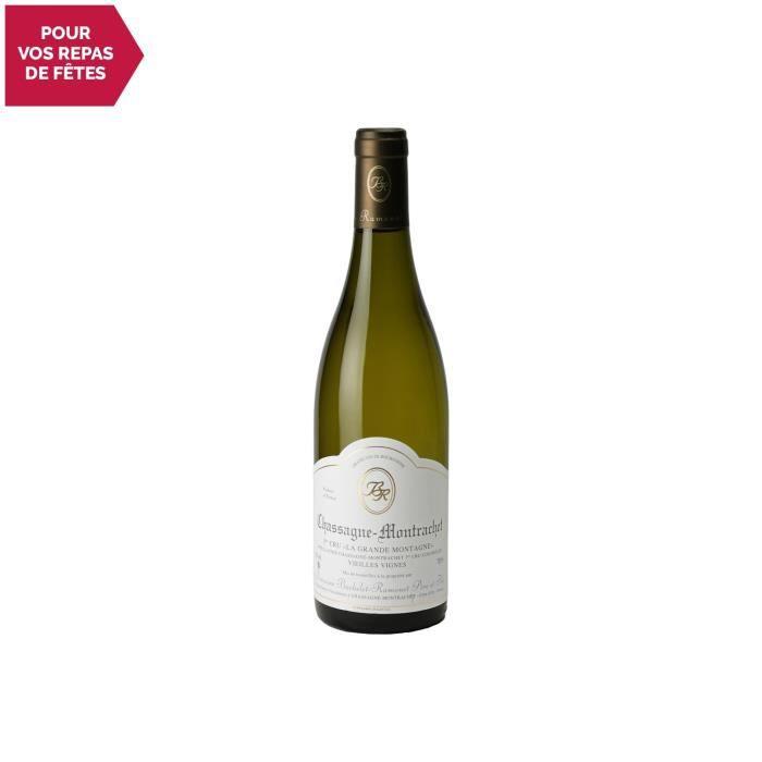 Chassagne-Montrachet 1er Cru La Grande Montagne Blanc 2018 - 75cl - Domaine Bachelet-Ramonet - Vin AOC Blanc de Bourgogne - Cépage