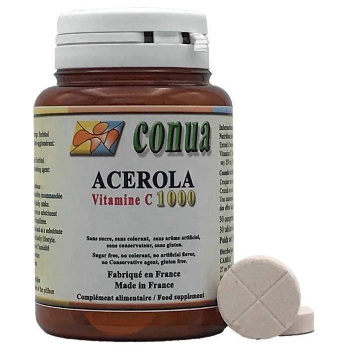 Acérola VITAMINE C 1000 mg