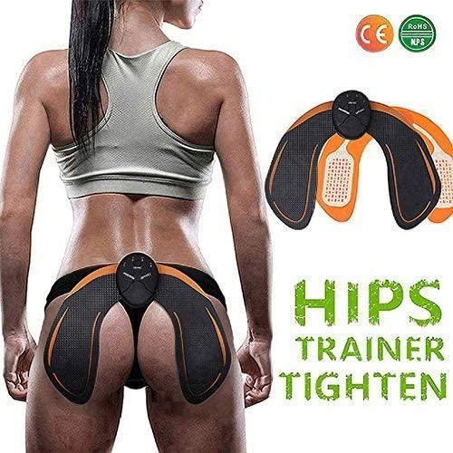 Hips Trainer Electrostimulateur Musculaire Hanches, Appareil de Fesse Massage pour Gym Workout Home Bureau Équipement Femmes