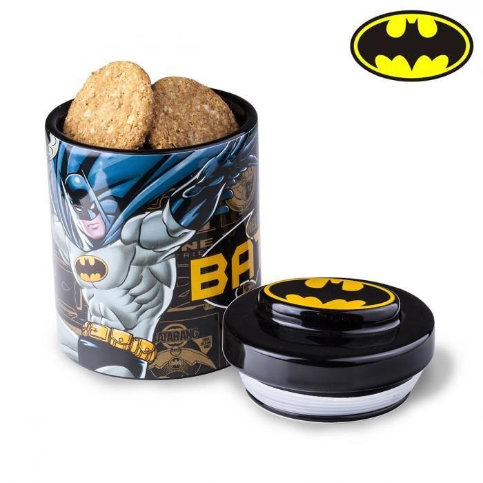 Boite à gâteau Batman sous licence officielle DC Comics - Noir