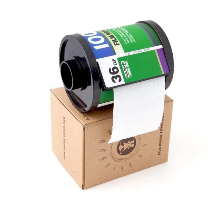 Distributeur papier WC pellicule photo