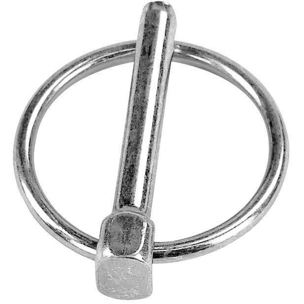 CHAUBEYRE - Goupille clip 6mm acier zingué c/2