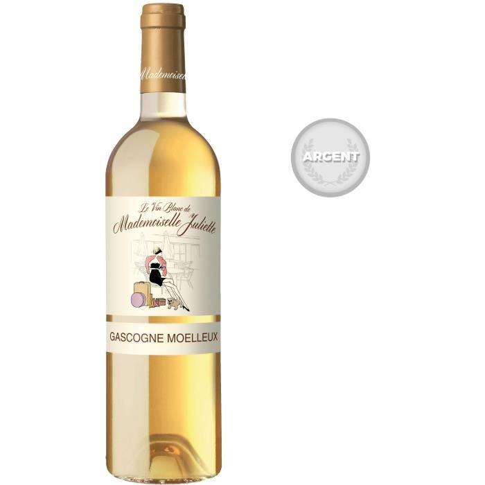 Mademoiselle Juliette 2018 IGP Côtes de Gascogne - Vin blanc du Sud-Ouest