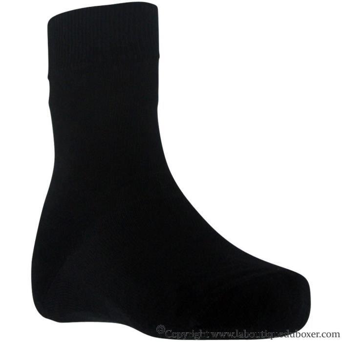 PULL IN Chaussettes Adulte Coton BLACK Noir