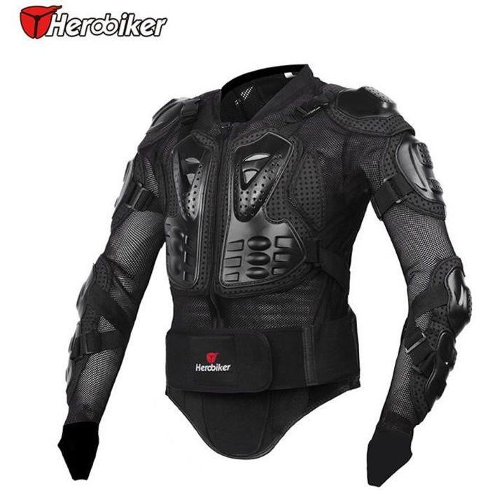 veste de moto . moto armure protectrice protection du corps moto Armure Noir