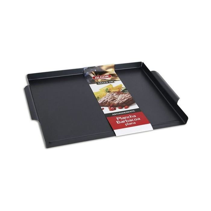 Barbecues et accessoires Superbe plaque a griller lisse pour barbecue algon (36 x 29 cm)
