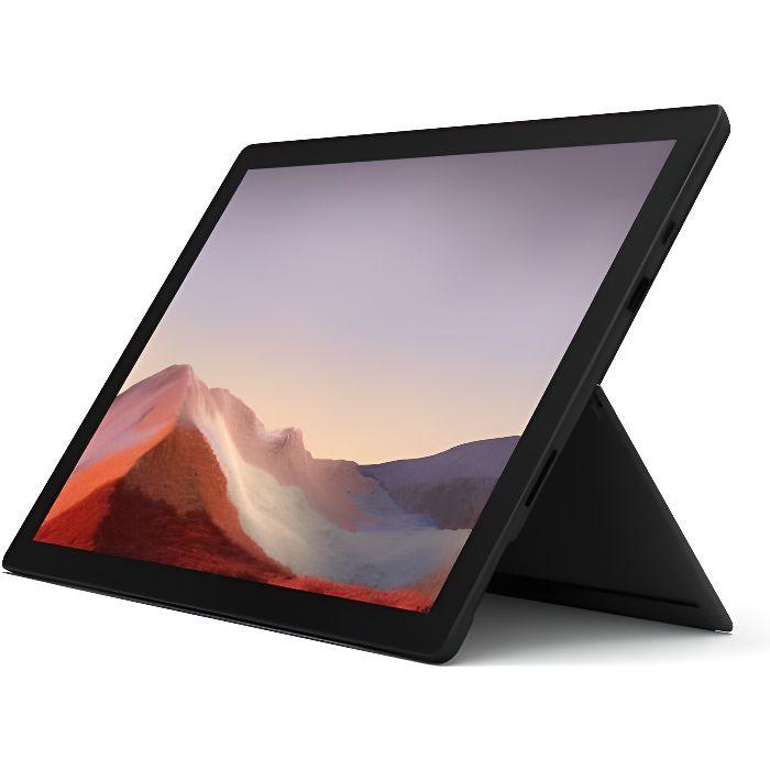"""Nouveau Microsoft Surface Pro 7 12.3"""" Core i5 Ram 8Go Stockage 256Go Ssd Noir"""