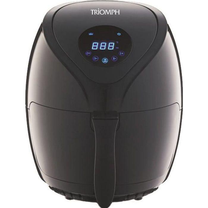 TRIOMPH ETF1801 Friteuse électrique sans huile Air Fryer - Noir