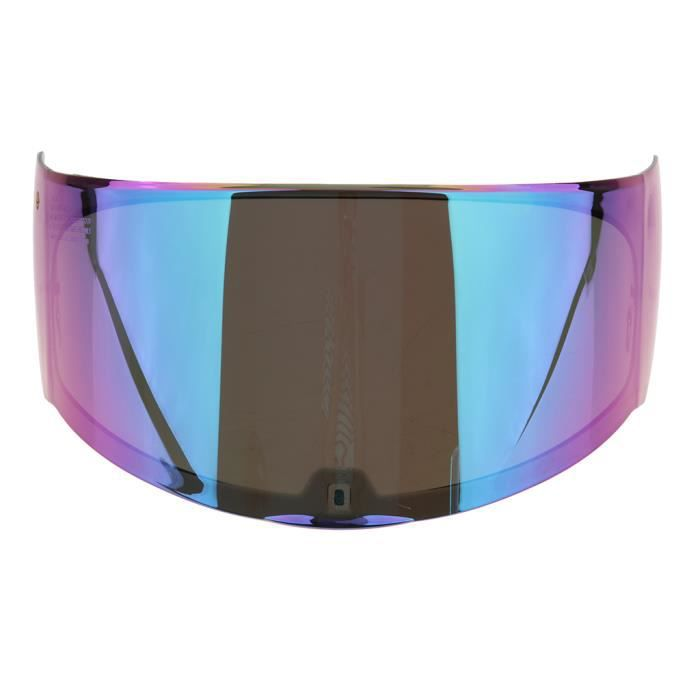 PARE-SOLEIL - BANDE SOLAIRE - FILM SOLAIRE Lentille de visière de casque de moto 1 pièce