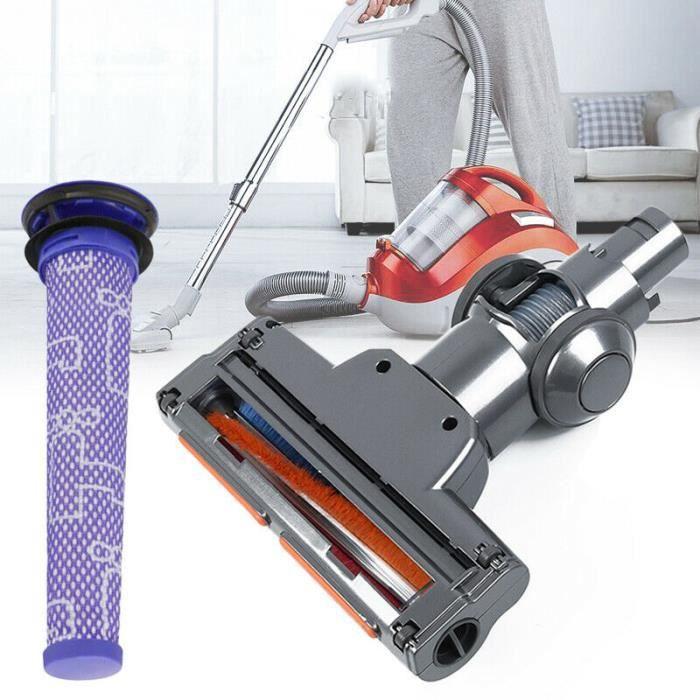 Motorisée Aspirateur Brosse Tête Pour Dyson, Brosse à plancher d'aspirateur pour Dyson, Dyson V6 Brosse à plancher + filtre