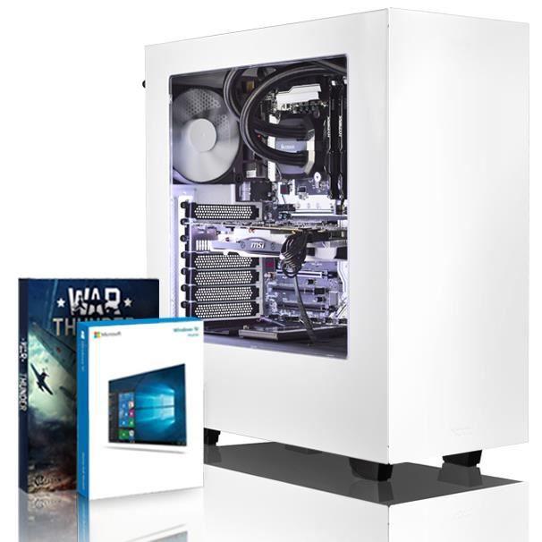 Vibox Rapture S580 289 Pc Gamer Ordinateur avec Jeu Bundle, Windows 10 Os (4,0Ghz Intel i3 Quad Core Processeur, Msi Armor Geforce G