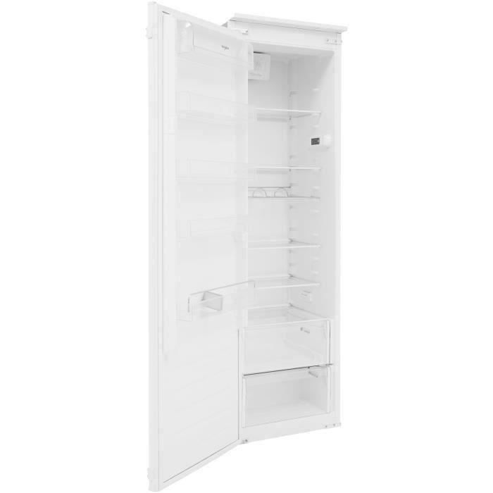 WHIRLPOOL ARG184701 - Réfrigérateur armoire encastrable - 292 L (262L + 30L) - Froid brassé - A+ - L54cm x H177,1cm - Blanc