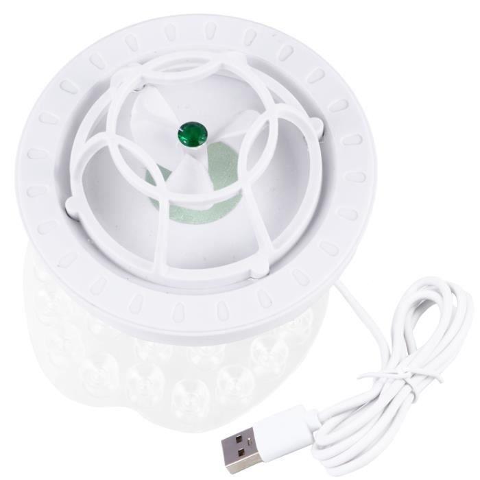 Petite machine à laver ultrasonique portative de plat de turbine d'USB de voyage de lave-vaisselle LAVE-LINGE