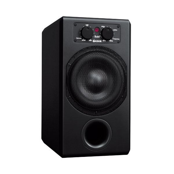 adam audio sub7 woofer subwoofer caisson basse. Black Bedroom Furniture Sets. Home Design Ideas