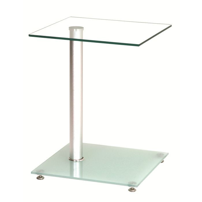Table d 39 appoint design en verre pedro achat vente for Table d appoint moderne