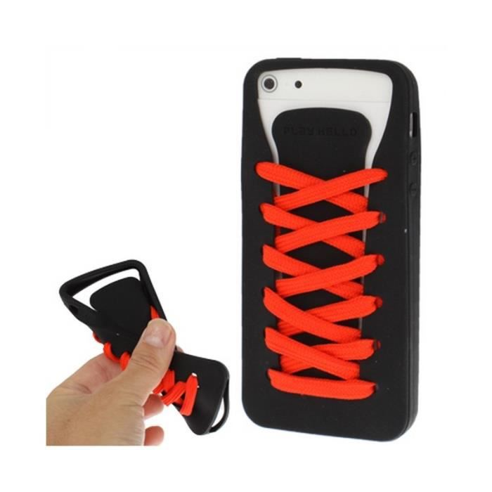 Coque iphone lacet