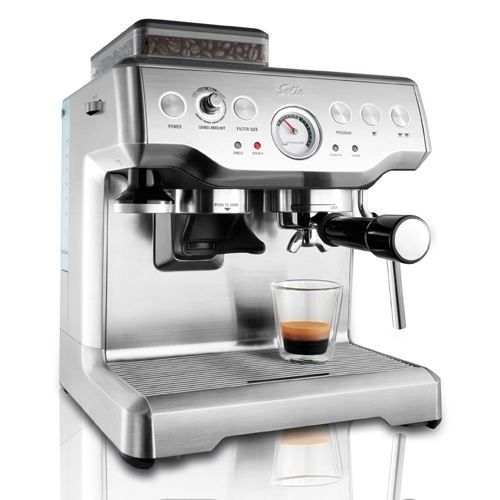 Machine expresso barista pro 114 solis achat vente machine expresso - Machine a cafe broyeur integre ...