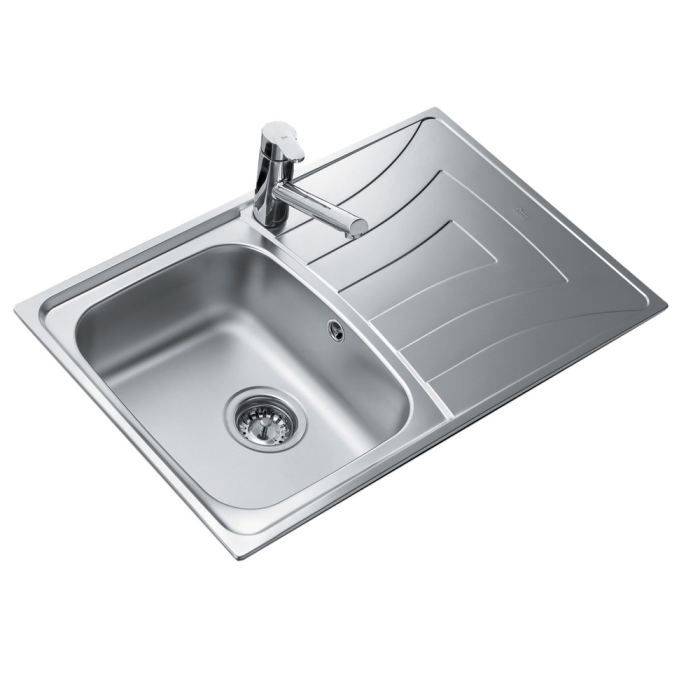 evier inox. Black Bedroom Furniture Sets. Home Design Ideas