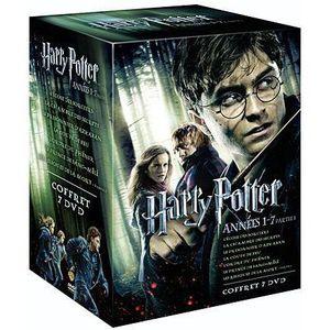 DVD FILM DVD Coffret Harry Potter, 1 à 7
