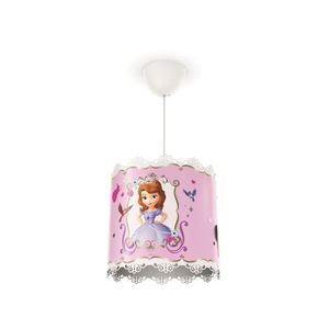 Disney Philips Lustre - suspension Sofia violet 23W