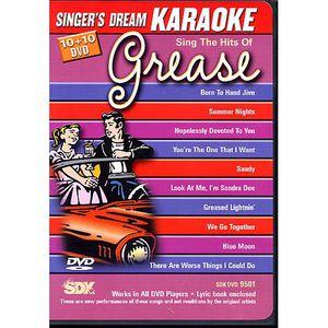 DVD MUSICAL DVD KARAOKE SINGER'S DREAM Grease