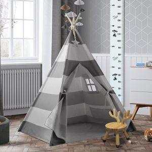 TENTE TUNNEL D'ACTIVITÉ Tente de tipi pour enfants pour tente de tipi pour