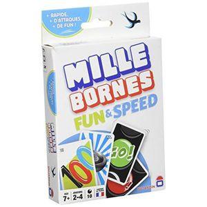 JEU SOCIÉTÉ - PLATEAU Dujardin Jeux - Mille Bornes Fun & Speed 59066