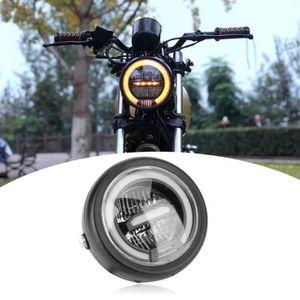 Feux arri/ère /à LED lampe de moto durable double support de plaque dimmatriculation personnalis/é pour les yeux de chat pour le remplacement des feux arri/ère arri/ère de moto
