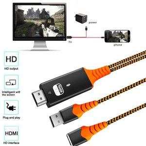 CÂBLE - FIL - GAINE CABLE - ADAPTATEUR - PRISE Câble universel USBC ad