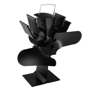 POÊLE À BOIS E-More Ventilateur de poêle à bois à 2 lames alime