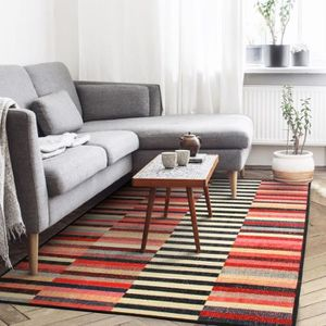TAPIS Tapis VINTAGE IN&OUTDOOR LINES 80X200 multicouleur