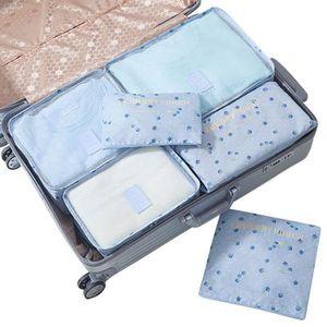 SAC DE VOYAGE UMIWE 6PCS Sac de rangement pour valise Sac voyage