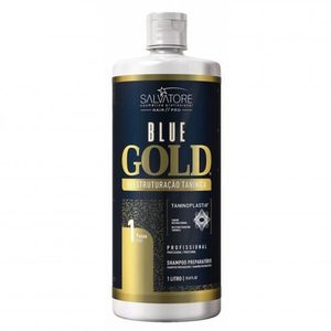 SHAMPOING Salvatore Blue Gold | Shampoing Lissage Taninoplas