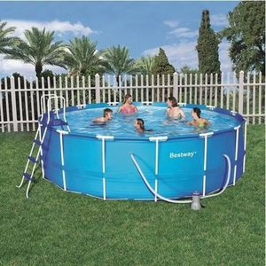 Piscine hors sol tubulaire o blue for Piscine hors sol tubulaire rectangulaire bestway