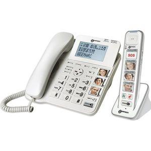 Téléphone fixe GEEMARC Téléphone filaire AMPLIDECT COMBI-PHOTO 29