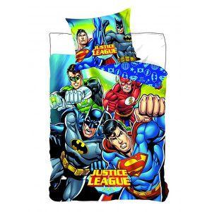 HOUSSE DE COUETTE ET TAIES Justice League - Parure de couette 140x200 + taie