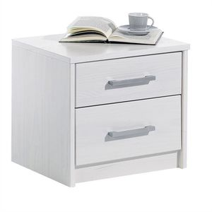 Table chevet pin blanc achat vente table chevet pin - Table de chevet en pin pas cher ...
