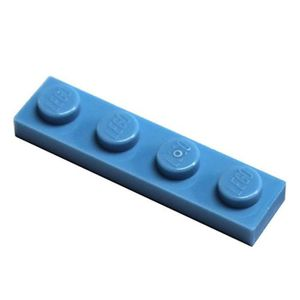 Neuf Carreaux En Bleu Carreaux Basics City LEGO 10 Pièce Bleu Carreau 1x4 2431