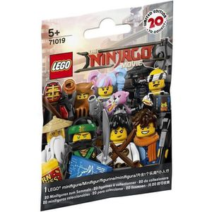 ASSEMBLAGE CONSTRUCTION LEGO® Minifigures 71019 Série Ninjago Movie