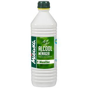 ALCOOL À BRÛLER Alcool ménager menthe 1L