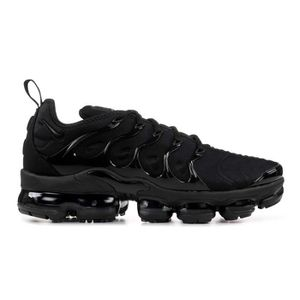 the best attitude 7ef17 71e18 BASKET Nike Air Vapormax Plus Triple Noir Baskets Chaussu