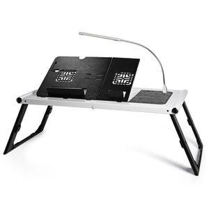 SUPPORT PC ET TABLETTE Table d'ordinateur portable pliable plateau de lit