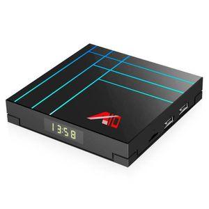 BOX MULTIMEDIA A10 Smart TV Box RK3318 Quad Core IPTV Android TV