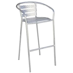 tabouret de bar alu achat vente tabouret de bar alu pas cher cdiscount. Black Bedroom Furniture Sets. Home Design Ideas