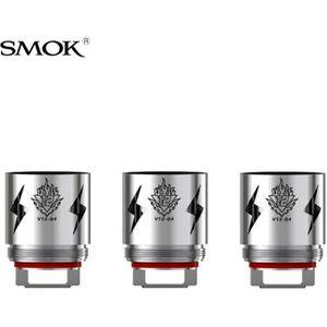 CIGARETTE ÉLECTRONIQUE Pack 3 résistances TFV12 V12-Q4 Smok 0.15 ohm